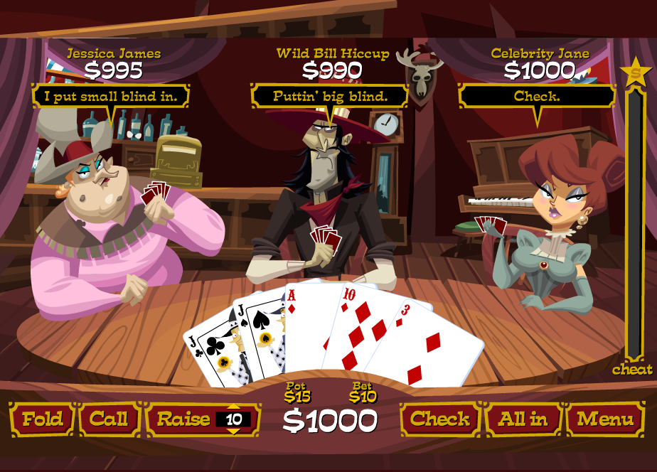 Train your gambling skills